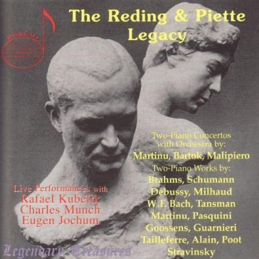 Duo pianists reding & pie