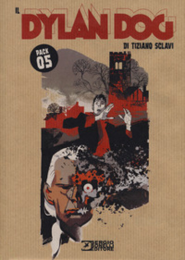 Dylan Dog. Pack. 5. - Tiziano Sclavi |