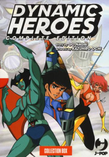 Dynamic heroes. Box. 1-4. - Go Nagai |