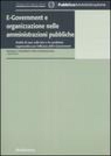 E-government e organizzazione nelle amministrazioni pubbliche