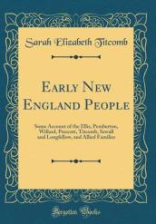 Early New England People