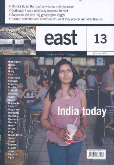 East. Vol. 13: India today