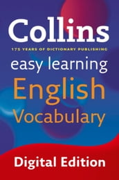 Easy Learning English Vocabulary: Your essential guide to accurate English (Collins Easy Learning English)