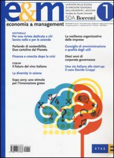 Economia & management. 1.