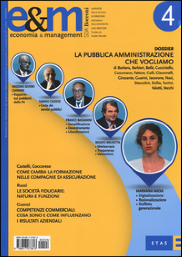 Economia & management. 4.
