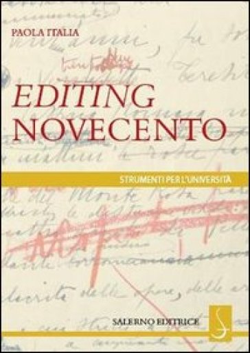 Editing Novecento - Paola Italia  