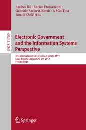 Electronic Government and the Information Systems Perspective