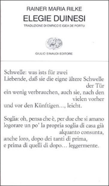 Elegie duinesi - Rainer Maria Rilke | Kritjur.org