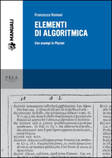 Elementi di algoritmica. Con esempi in Phyton