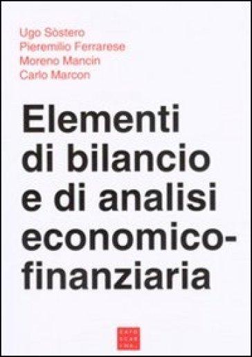 Elementi di bilancio e di analisi economico-finanziaria