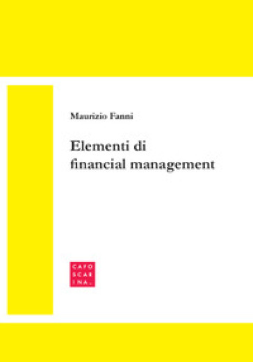 Elementi di financial management