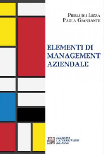 Elementi di management aziendale - Pierluigi Lizza |
