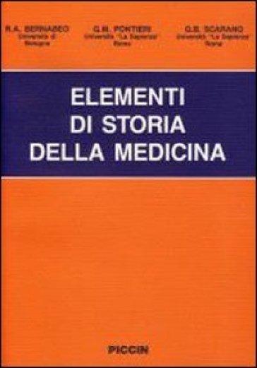 Elementi di storia della medicina - G. B. Scarano |