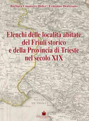 Elenchi delle località abitate Friuli