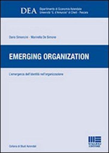 Emerging organization - Marinella De Simone | Thecosgala.com