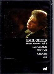 Emil gilels live in mosco