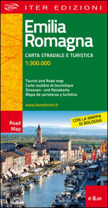 Emilia Romagna. Carta stradale e turistica 1:300.000. Ediz. multilingue