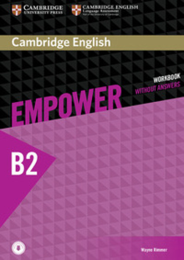 Empower. B2+. Upper intermediate. Workbook. Without answers. Per le Scuole superiori. Con espansione online - Adrian Doff | Jonathanterrington.com