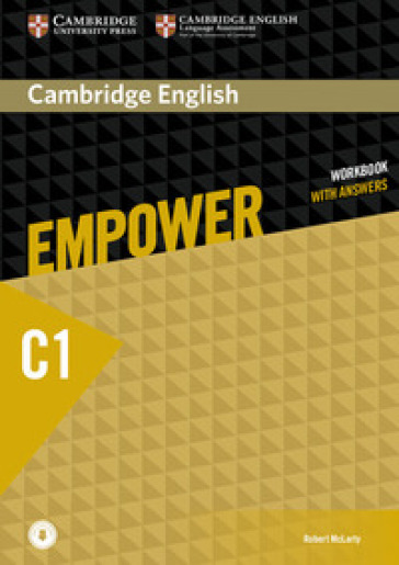Empower. C1. Workbook. With answers. Per le Scuole superiori. Con espansione online