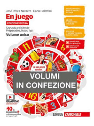 En juego. Ediz. rossa. Volume unico. Con A través de la cultura hispanica. Per le Scuole superiori. Con e-book. Con espansione online - José Pérez Navarro  