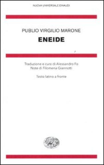 Eneide. Testo latino a fronte - Publio Virgilio Marone pdf epub