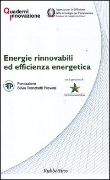 Energie rinnovabili ed efficienza energetica