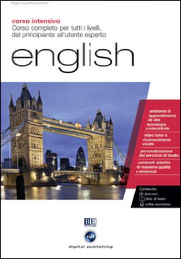 English. Corso completo per tutti i livelli. Corso intensivo. CD Audio e CD-ROM