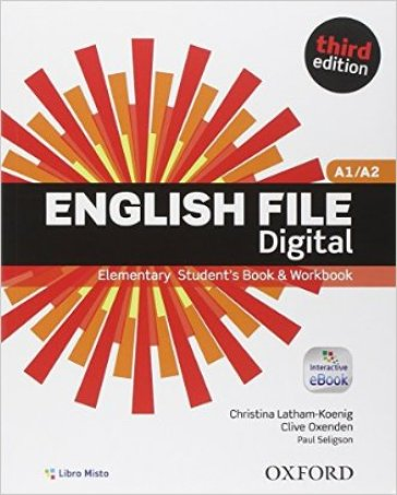 English file digital. Elementary. Vc-Student's book-Workbook. With key. Con e-book. Con espansione online. Per le Scuole superiori