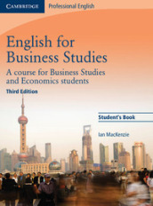 English for business studies. Student