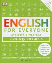 Image of English for everyone. Livello 3° intermedio. Attività e pratica