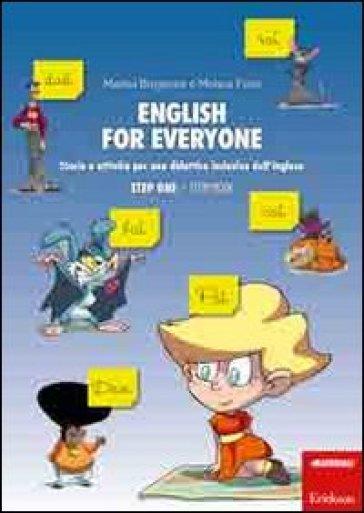 English for everyone. Storie e attività per una didattica inclusiva dell'inglese. Step one: Storybook-Workbook. Con CD Audio (2 vol.) - Marina Brugnone |