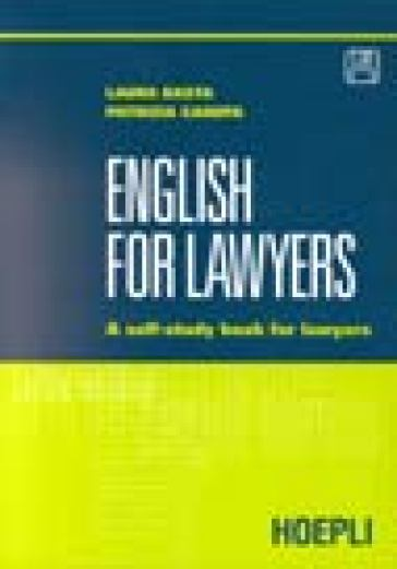 English for lawyers. Con floppy disk
