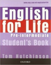 English for life. Pre-intermediate. Ital comp-Student