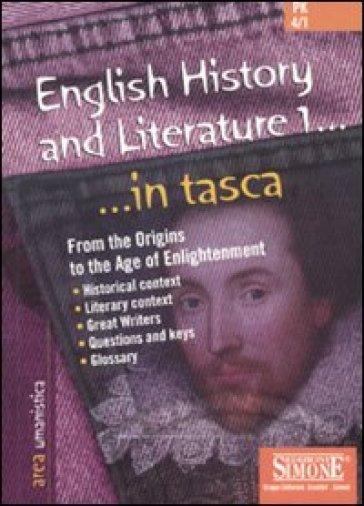 English history and literature. 1. - G. Ciotola |