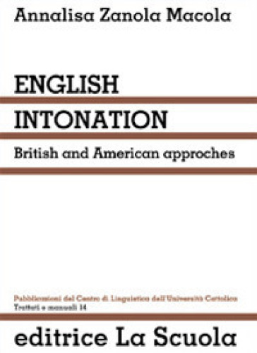 English intonation. British and American approaches