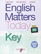 English matters today key. Con e-book. Con espansione online. Per le Scuole superiori