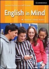 English in mind. Starter. Student