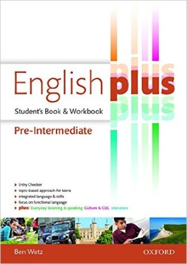 English plus pre-intermediate: premium 2.0. Student book-Workbook. Per le Scuole superiori. Con e-book. Con espansione online