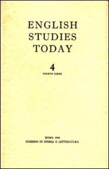 English studies today. 4. - I. Cellini |