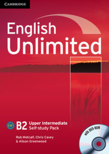 English unlimited. Upper intermediate. Self study pack. Per le Scuole superiori. Con DVD. Con espansione online