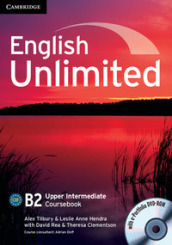 English unlimited. Upper intermediate. Coursebook. Con e-portfolio. Con espansione online. Per le Scuole superiori