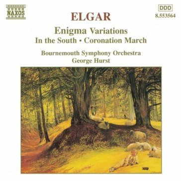 Enigma variations op.36, in the south op
