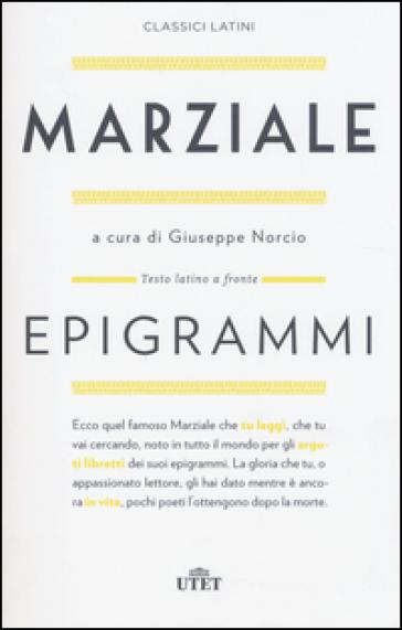 Epigrammi. Testo latino a fronte. Con e-book - Marco Valerio Marziale | Kritjur.org