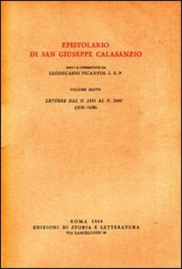 Epistolario. 6.Lettere dal n. 2351 al n. 3000 (1635-1638) - Giuseppe Calasanzio (san)   Kritjur.org