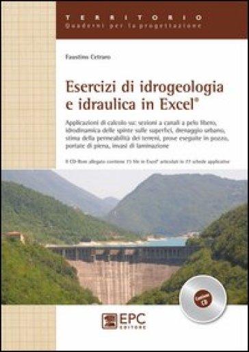 Esercizi di idrogeologia e idraulica in Excel - Faustino Cetraro |