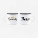 Espresso For Two - Coffee Mug - Beauty & Beast