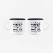 Espresso For Two - Coffee Mug - Coffee