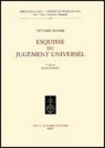 Esquisse du jugement universel - Vittorio Alfieri |