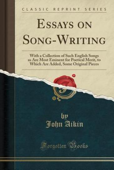 Essays about songs