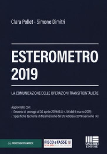 Esterometro 2019 - Simone Dimitri |